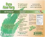 Aloe Vera 100% Whole Leaf Liquid (Allergy Reduction & Candida Yeast Control