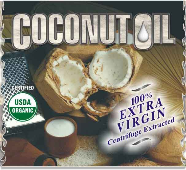 Natur-PUR Centrifuge Extracted Coconut Oil - 100% Virgin - Kosher Approved - USDA Certified Organic - Processed Under 78* - GO COCONUTS!!